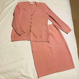 St. John Collection by Marie Gray pink Suit size 6